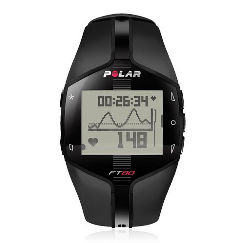 Polar FT80 Black WD pulzusmérő óra